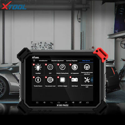 XTOOL X-100 PAD2 Tablet Programmer Immobilizer EEPROM EPB EUC TPMS Airbag Reset