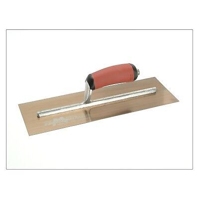 Marshalltown MXS73GSD Gold Plasterers Trowel Durasoft Handle 14 x 4.3/4in