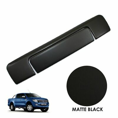 MATTE BLACK Tailgate Handle Covers for Ford Ranger T6 2012-2015