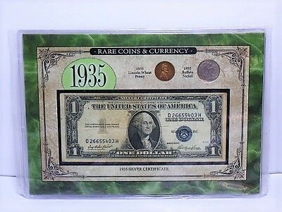 American Coin Treasures 1935 Rare Coins & Currency