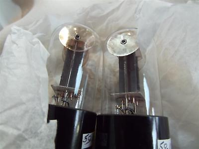 "Paire Rare Tube Lampe 6Sn7 Gt Vt-231 Tung-Sol ""mouse Ears""tested Strong Nos Pair"