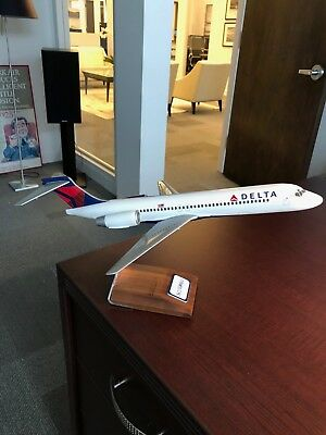 Delta SAS Blue1 two sided Boeing 717 Aircraft 1/100 Model Pacmin