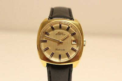"""Vintage Rare Swiss Gold Plated Ladies Automatic Watch """"mido"""" Ocean Star"""