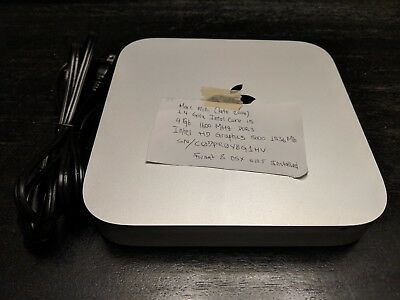 Apple Mac mini A1347 Desktop - MGEN2LL/A (October, 2014)