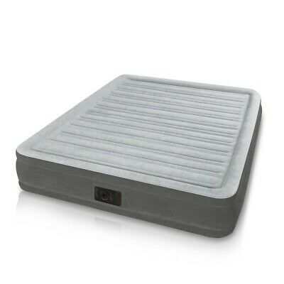 Matelas gonflable Intex 67770 lit double camping 152x203x33