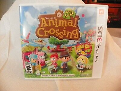 3ds Game Case, Animal Crossing New Leaf Case only, No Game