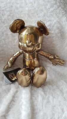 Mickey mouse gold Ca.27cm