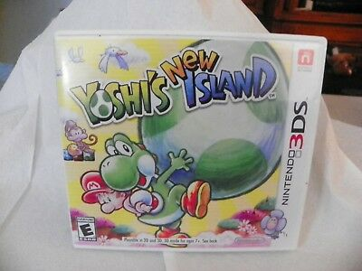 Nintendo 3ds Yoshi New Island game case, Case only, No Game
