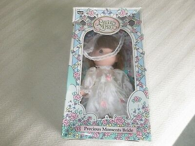 NIB 1992 RoseArt PRECIOUS MOMENTS BRIDE Vinyl DOLL  - 10""