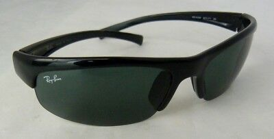 9611ba4737 RAY-BAN MEN S BLACK Green Lenses Shield Sunglasses RB4039 -  59.99 ...