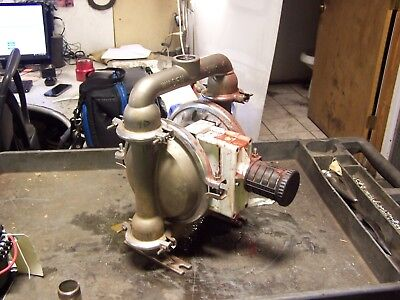 """Wilden 1-1/4"""" Hastelloy-C Air Operated Double Diaphragm Pump"""