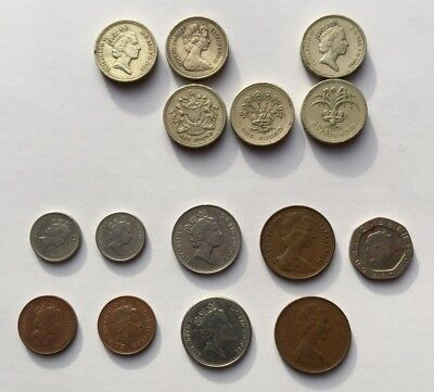 Coins/Money of England, Great Britain, United Kingdom Pounds & Pence
