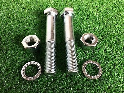 Tow Bar / Tow Ball Bolts M16 x 100mm Long C/w Nuts & Washers 8.8 HIGH TENSILE