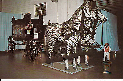 Horse Drawn Hearse At Pioneer Village Minden Nebraska