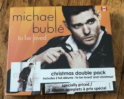 Michael Buble - To Be Loved/Christmas Double Pack (CD New Factory Sealed) Music