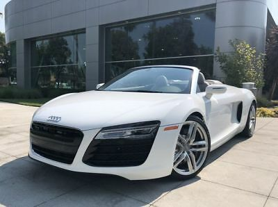 2015 R8 V8 Convertible 2D White Audi R8 with 20,917 Miles available now!