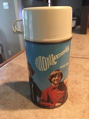Thermos 1967 The Monkees  Lunchbox Thermos