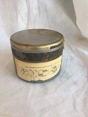 WWII US Navy Gimbal Chronometer Watch Aluminum Shipping Container BIN$45