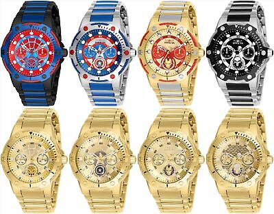 Invicta Marvel Women's Day-Date 24H 39mm Watch - Choice of Color/Marvel