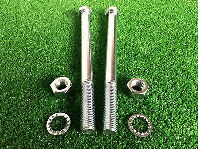 Tow Bar / Tow Ball Bolts M16 x 220mm Long C/w Nuts & Washers 8.8 HIGH TENSILE