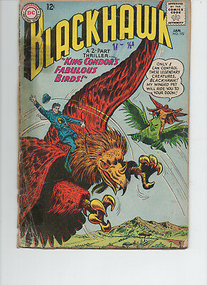 Blackhawk 192 Good 1964 Dc Silver Age Comic