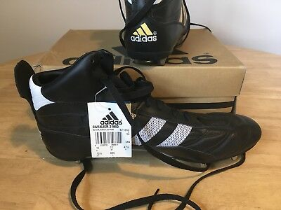 New Adidas Cavalier 2 Mid Rugby Boots Uk 12retail £65 New Rugby Boots Bnwt Bnib