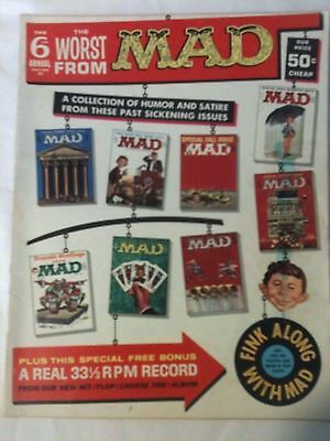 Worst From MAD Magazine 1963 Annual 6 Wally Wood Art Don Martin The JFK Show FN