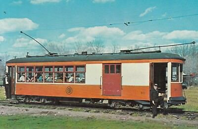SPRINGFIELD TERMINAL RAILWAY TROLLEY COMBINATION CAR NO 16 to  Charlestown NH