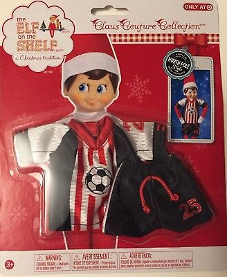 The Elf On The Shelf Claus Couture Clothes Soccer Set