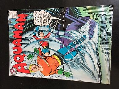 AQUAMAN #15 (DC 1st Series) Aqualad. Mera. Dr Deering. Nick Cardy c/a Movie 1964