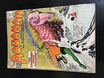 AQUAMAN #7 (DC 1st Series) Aqualad. Quisp. Capt Clay. Nick Cardy c/a. Movie 1963