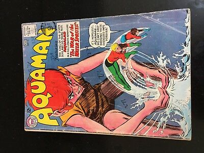AQUAMAN #10 (DC 1st Series) Aqualad. Quisp. Nick Cardy c/a. VG. Key Movie. 1963!