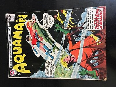 AQUAMAN #14 (DC 1st Series) Aqualad. 3rd MERA. Nick Cardy c/a. VG/F. Movie 1964!