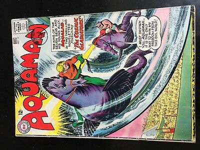 AQUAMAN #12 (DC 1st Series) Aqualad. Nick Cardy c/a. VG/F (5) copy. Movie. 1963!