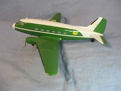 JOHN DEERE DC-3 AIRPLANE BANK REPLICA by SPEC CAST #5103