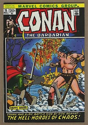 Conan the Barbarian #15 VF Marvel 1972 Barry Windsor-Smith Cover Elric
