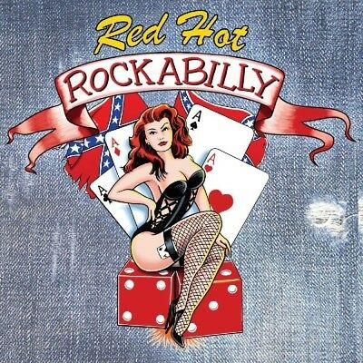 Red Hot Rockabilly  Jack Scott/Sonny Burgess/Hall Roy/Elvis Presley/+  2 Cd New+