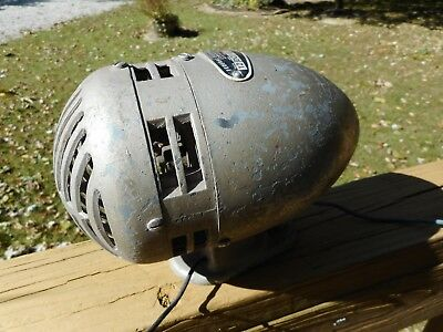 Vintage Federal Sign and Signal Siren Model 0 Police Fire 12V DC