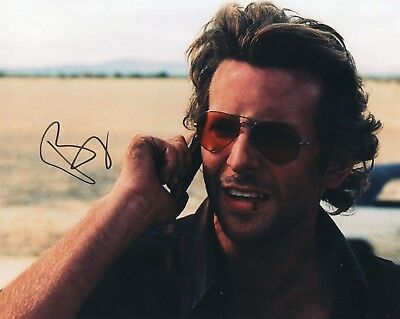 Bradley Cooper The Hangover Signé 8x10 Photo W / Coa
