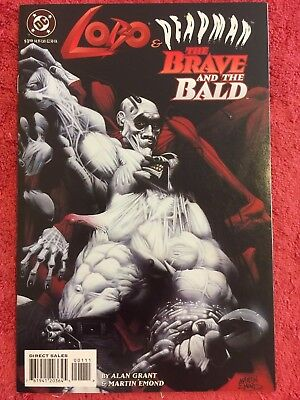 Lobo Deadman Brave and the Bald 1 DC LOT of 1 VF+ 1995 Grant Emond