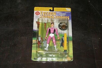 DC Direct Action Figure Legion of Super-Heroes COSMIC BOY MOC Mint Card OVP NEU