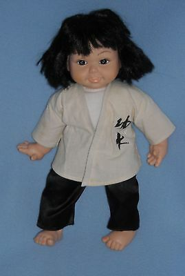 """14"""" Kung Fu Asian Oriental Chinese Doll"""