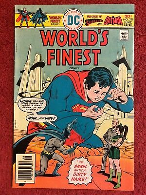 World's Finest 238 DC Lot of 1 1976 Haney Chan Elias Calnan