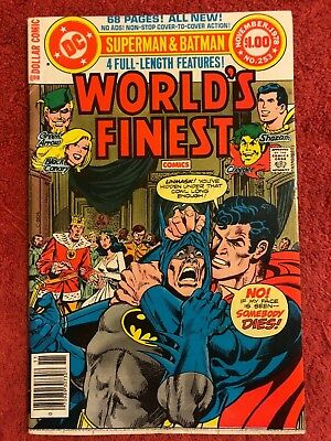 World's Finest 253 DC Lot of 1 1978 Haney Tuska Ditko Conway Aparo Colletta