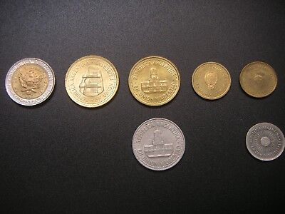 Argentina Coin Collection - 7 Coins