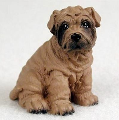 SHAR PEI TINY ONES DOG Figurine Statue Pet Lovers Gift Resin