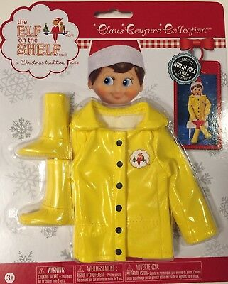 The Elf On The Shelf Claus Couture Clothes Raincoat And Boots