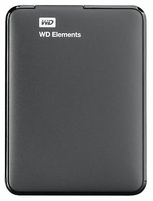 Externe Festplatte Western Digital WD Elements Portable HDD 1TB USB 3.0