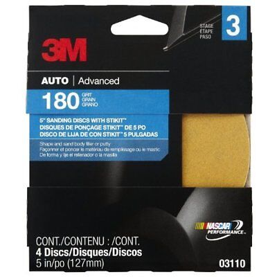 """3M Production 03110 Fine Backed Adhesive Disc Automotive Care Product - 5"""""""