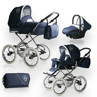 Bebebi Loving | 4 in 1 pram & pushchair set | ISOFIX Set